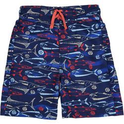 Tommy Bahama Big Boys Sailfish Print Swimtrunks