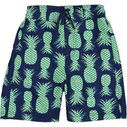 Tommy Bahama Big Boys Pineapple Print Swimtrunks