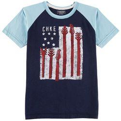 Cherokee Big Boys Guitar Flag T-Shirt