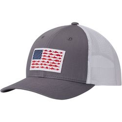 Columbia Boys Fish Flag Mesh Snapback Hat