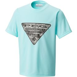 Columbia Big Boys PFG Triangle Fill T-Shirt
