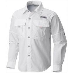 Columbia Big Boys PFG Bahama Long Sleeve Shirt