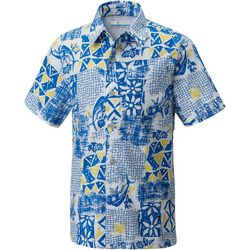 Columbia Big Boys PFG Trollers Best Convo Button-Up Shirt