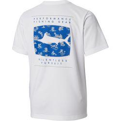 Columbia Big Boys PFG Off Shore Short Sleeve T-Shirt