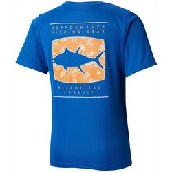 Columbia Big Boys PFG Off Shore Tuna Short Sleeve T-Shirt