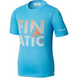 Columbia Big Boys PFG Finatic Short Sleeve T-Shirt
