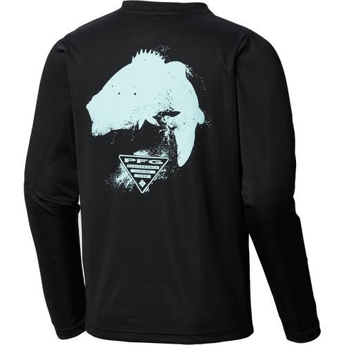 15a13aa0907 Columbia Big Boys PFG Bass Long Sleeve T-Shirt | Bealls Florida