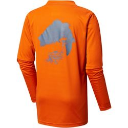 Columbia Big Boys PFG Bass Long Sleeve T-Shirt