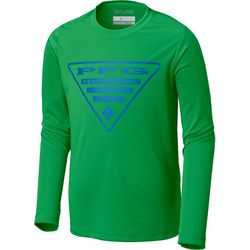 Columbia Big Boys PFG Reel Long Sleeve T-Shirt