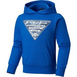 Columbia Big Boys PFG Triangle Fleece Hoodie