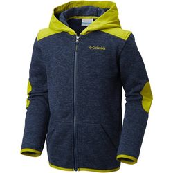 Columbia Big Boys Birch Woods II Full Zip Fleece Hoodie