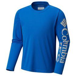Columbia Big Boys Solid PFG Terminal Tackle T-Shirt