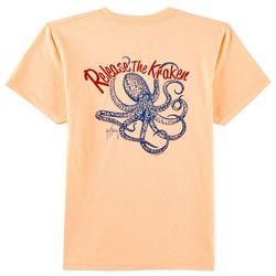 Guy Harvey Big Boys Release The Kraken T-Shirt
