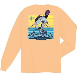Guy Harvey Big Boys Sunburn Long Sleeve T-Shirt