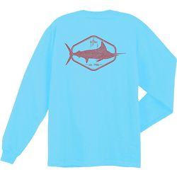 Guy Harvey Big Boys Division Long Sleeve T-Shirt