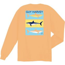 Guy Harvey Big Boys Painter Long Sleeve T-Shirt