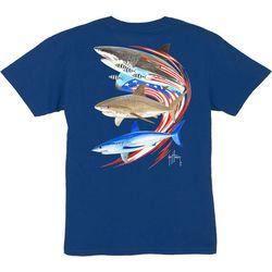 Guy Harvey Big Boys Go Fast Shark T-Shirt