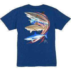 Guy Harvey Big Boys Go Fast Shark T-Shirt