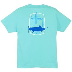 Guy Harvey Big Boys Barrel Logo T-Shirt