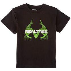 Realtree Big Boys Digital Logo T-Shirt
