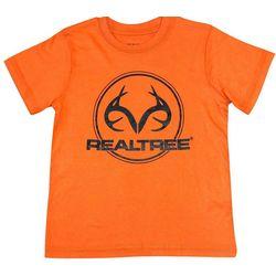 Realtree Big Boys Circle Logo T-Shirt