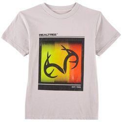 Realtree Big Boys Ombre Colorblock T-Shirt