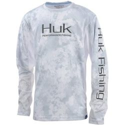 Huk Big Boys Icon Camo Long Sleeve T-Shirt