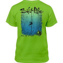 Salt Life Big Boys Hook Line & Sinker Crew T-Shirt
