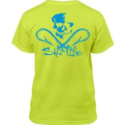 Salt Life Big Boys Skull And Hooks T-Shirt