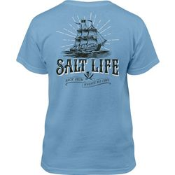 Salt Life Big Boys Back From Whence We Came T-Shirt