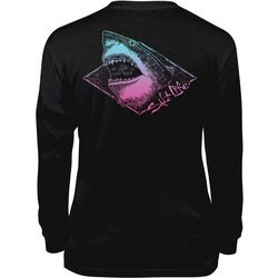 Salt Life Big Boys Electric Shark Long Sleeve T-Shirt