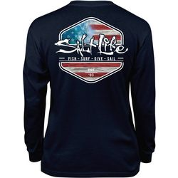 Salt Life Big Boys Flag Long Sleeve T-Shirt