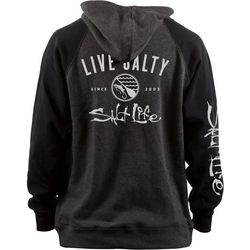 Salt Life Big Boys Live Salty Raglan Hoodie