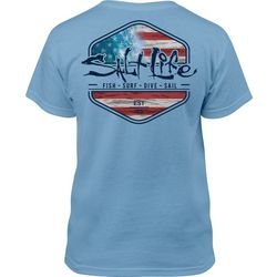 Salt Life Big Boys Ameriseas T-Shirt