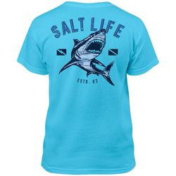 Salt Life Big Boys Camo Shark T-Shirt
