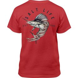 Salt Life Big Boys Sailfish Flag T-Shirt