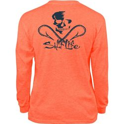 Salt Life Big Boys Skull & Hooks Long Sleeve T-Shirt