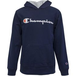 Champion Big Boys Solid French Terry Hoodie