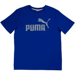 Puma Big Boys Logo T-Shirt