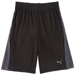 Puma Big Boys Core Logo Panel Shorts