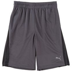 Puma Big Boys Core Panel Shorts