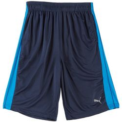 Puma Big Boys Core Side Panel Shorts