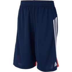Adidas Big Boys Three Stripe Shorts