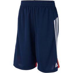 Adidas Big Boys Three Stripe Shorts