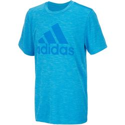 Adidas Big Boys Performance Logo T-Shirt