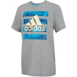 Adidas Big Boys Graphic Logo T-Shirt