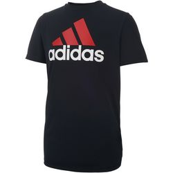 Adidas Big Boys ClimaLite Logo T-Shirt