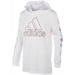 Adidas Little Boys Long Sleeve Ball Hoodie