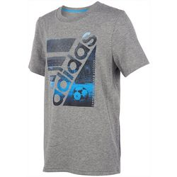 Adidas Big Boys Soccer Court T-Shirt