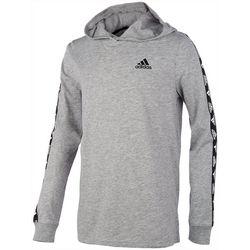 Adidas Big Boys Strap Logo Hoodie